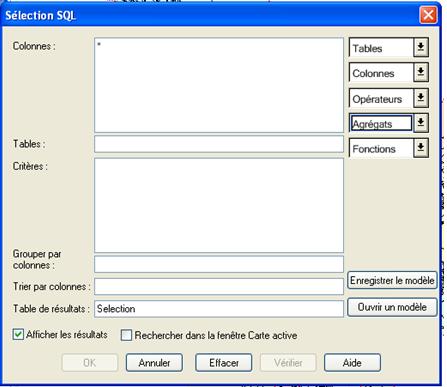 Fonctions d'agrgation SQL